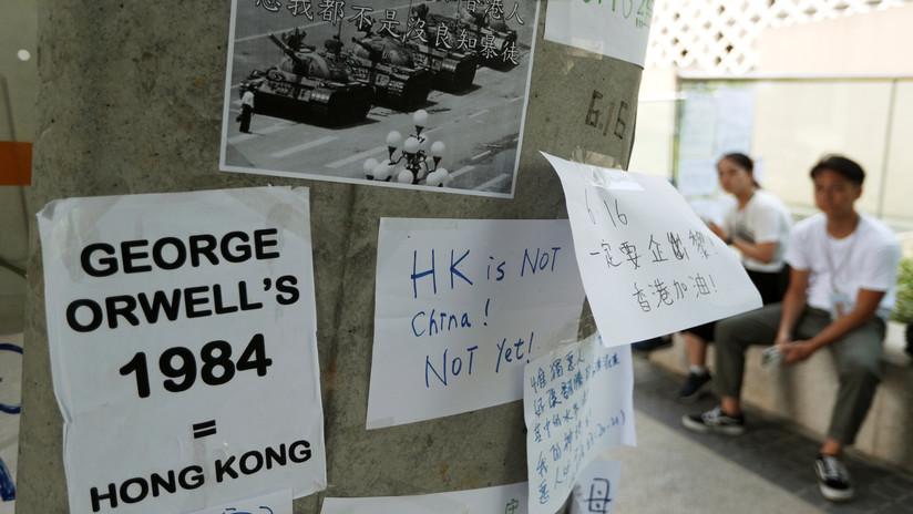"""""""Un paso en falso causaría una explosión"""": Bolton insta a China a tener cuidado con sus acciones respecto a Hong Kong"""