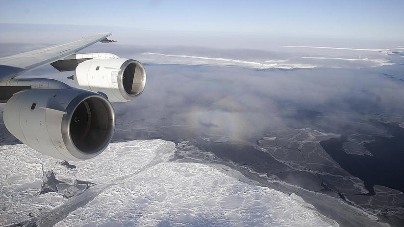 Un avión de la Fuerza Aérea Argentina aterriza de emergencia en la Antártida