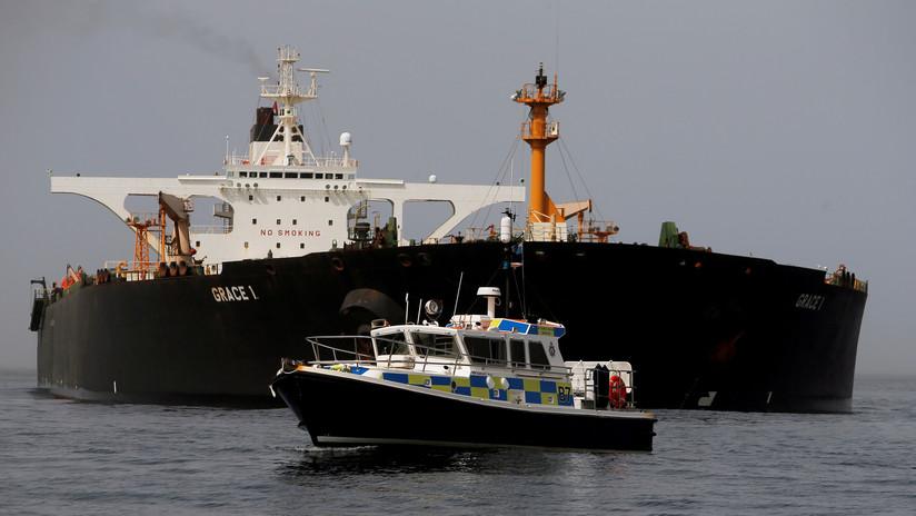 Gibraltar libera al capitán y tres oficiales del petrolero iraní Grace 1