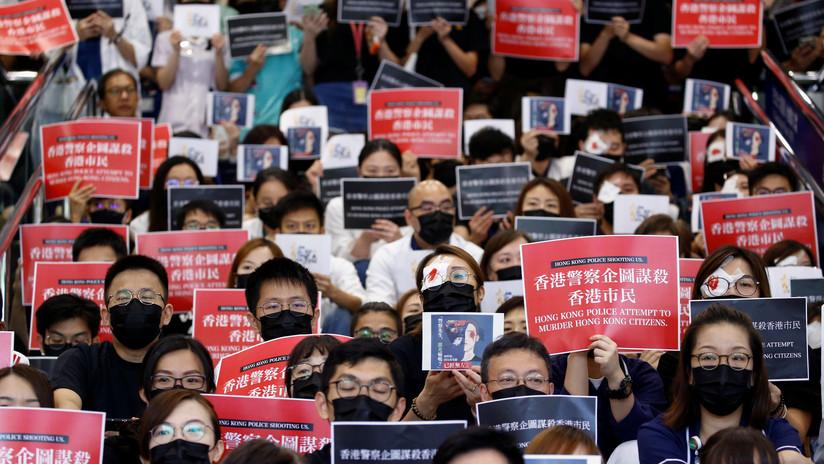 """""""Habría un final feliz"""": Trump sugiere a Xi Jinping cómo poner fin a las protestas en Hong Kong"""