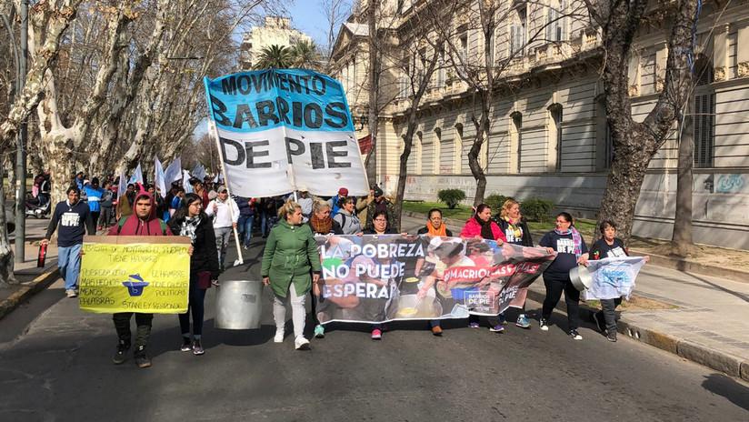 'Panazo' y 'ollas vacías': argentinos salen a las calles en protesta por la crisis económica