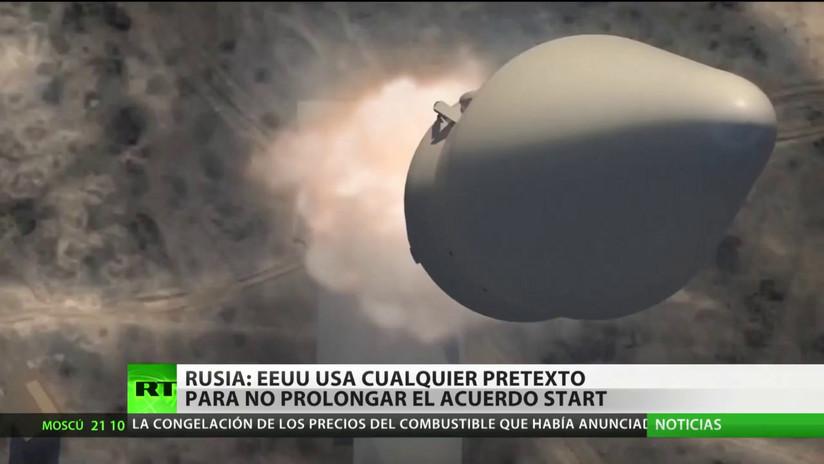 Rusia: EE.UU. usa cualquier pretexto para no prolongar el acuerdo START