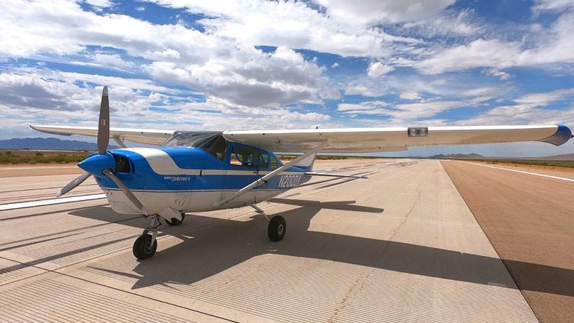 VIDEO: La Fuerza Aérea de EE.UU. prueba un aparato que convierte cualquier avión en un robot