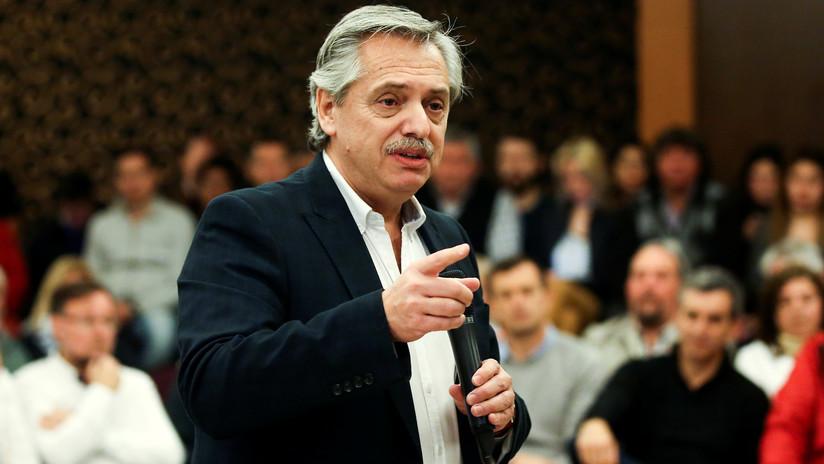 """""""Busca golpes de efecto electorales"""": Alberto Fernández cuestiona las medidas de Macri para paliar la crisis"""
