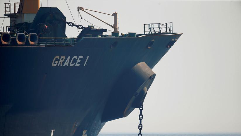 EE.UU. emite una orden para incautar al petrolero iraní Grace 1 liberado en Gibraltar