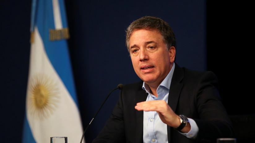 Dimite Nicolás Dujovne, ministro de Hacienda de Argentina