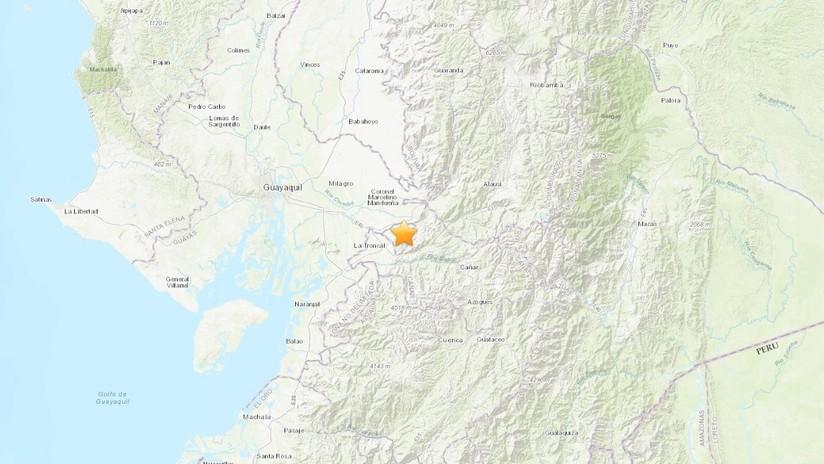 Se registra un sismo de magnitud 5,0 en Ecuador