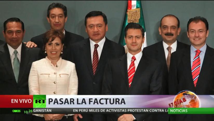 La exsecretaria de Desarrollo Social mexicana Rosario Robles pide que se descongelen sus cuentas bancarias