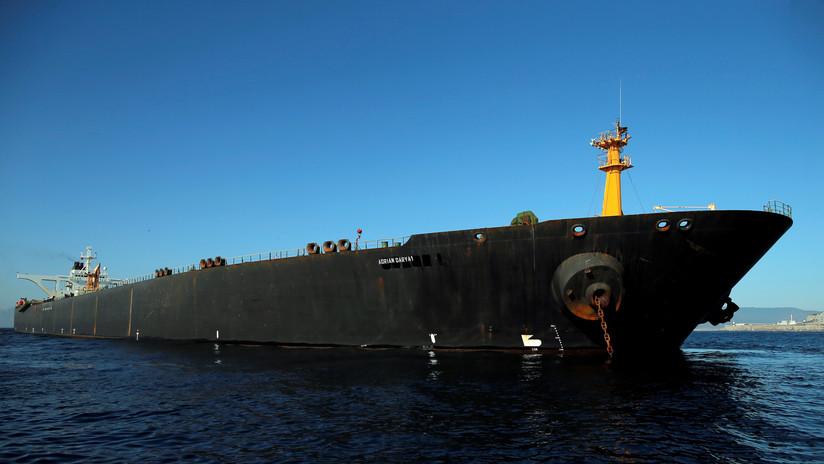 El petrolero iraní Grace 1 zarpa desde Gibraltar pese a la demanda de incautación de EE.UU.