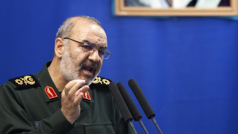 """Comandante de la Guardia Revolucionaria: """"EE.UU. ha acumulado todo su poder en el campo de batalla con Irán"""""""