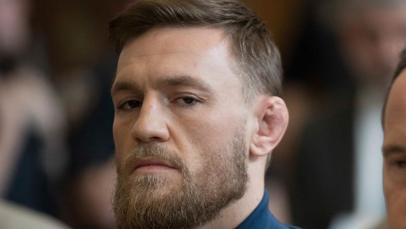 """""""No quiero tu bebida"""": revelan detalles del brutal puñetazo de Conor McGregor a un hombre en un bar"""