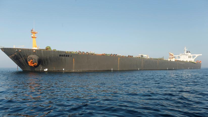 Irán advierte a EE.UU. contra la incautación del petrolero Grace 1 en alta mar