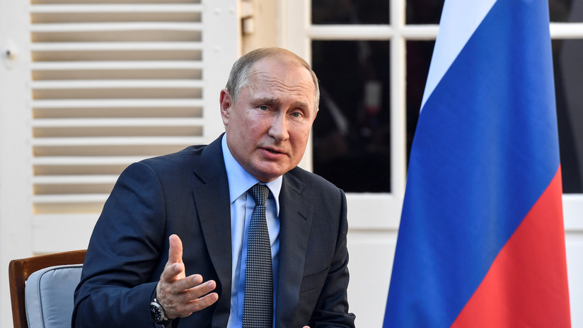 """Putin sobre las manifestaciones en Rusia: """"Los ciudadanos tienen derecho a protestas pacíficas, pero sin violar la ley"""""""