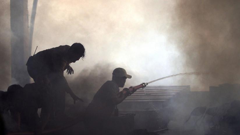 VIDEO: Una explosión 'de película' en una gasolinera deja 13 heridos en Camboya