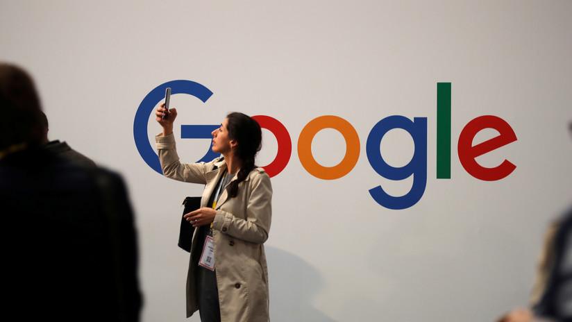 Informan de una caída masiva de Google en los EE. UU.