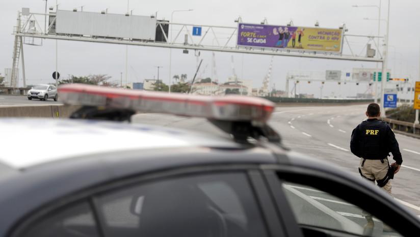 VIDEO: El momento en que la Policía dispara contra el secuestrador de Río de Janeiro