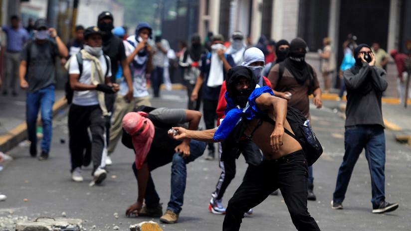 Cinco muertos y 80 heridos: piden al presidente de Honduras que ponga fin a la represión de las protestas