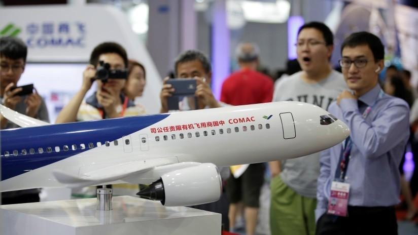 China intensifica las pruebas del avión que plantará cara a los Boeing y Airbus
