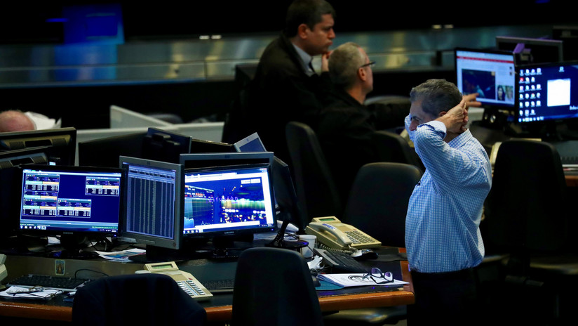 Fuerte caída de la Bolsa: El S&P Merval retrocedía 10%