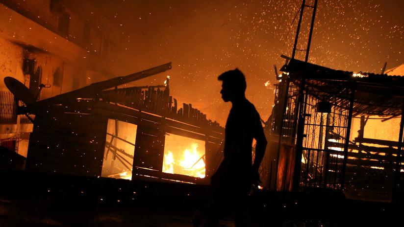Los focos de incendios aumentan 82 % en Brasil en lo que va de 2019