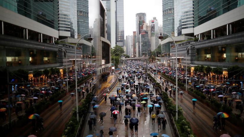 VIDEO: Hong Kong vive su 12.ª semana consecutiva de protestas
