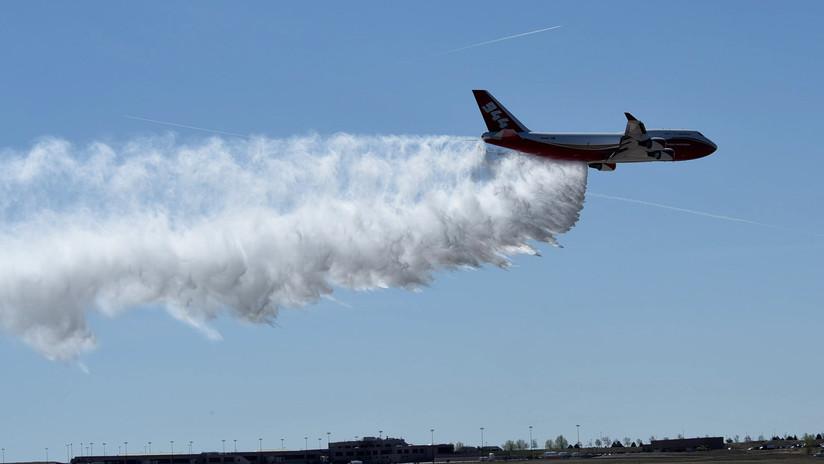 Bolivia usará un Supertanker para mitigar incendios forestales