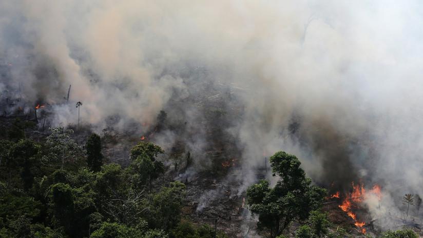 FOTOS: La NASA publica imágenes satelitales que muestran cómo arde la Amazonía en Brasil