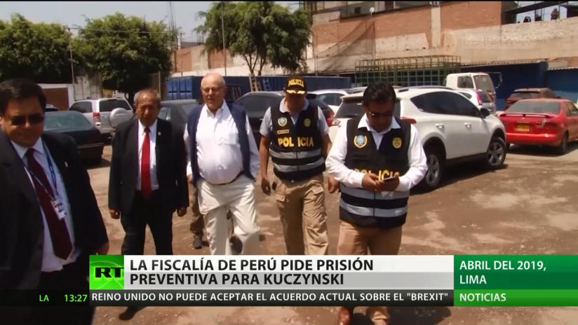 La Fiscalía de Perú pide prisión preventiva para Kuczynski