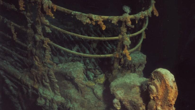 Las primeras imágenes del Titanic en 14 años muestran su creciente deterioro (VIDEO)