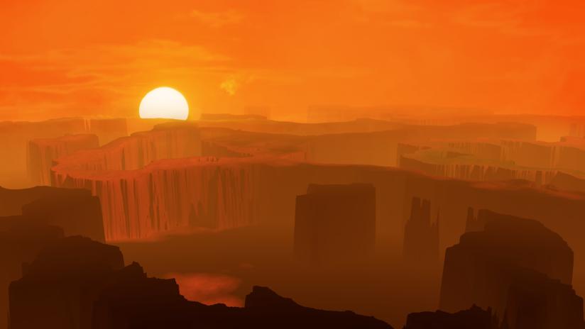 Una nueva investigación sugiere que Marte fue un planeta cálido y con corrientes de agua