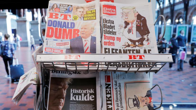 """""""No participamos en 'shopping' internacional"""": Rusia comenta la idea de Trump de comprar Groenlandia"""