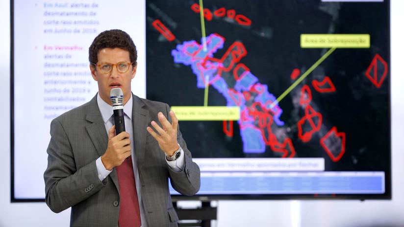 Abuchean al ministro de Medio Ambiente de Brasil durante un plenario sobre el clima (FOTO, VIDEOS)