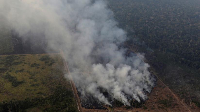 """Bolsonaro, insiste: """"Hay pruebas muy sólidas de que las ONG están detrás de la quema en la Amazonia"""""""