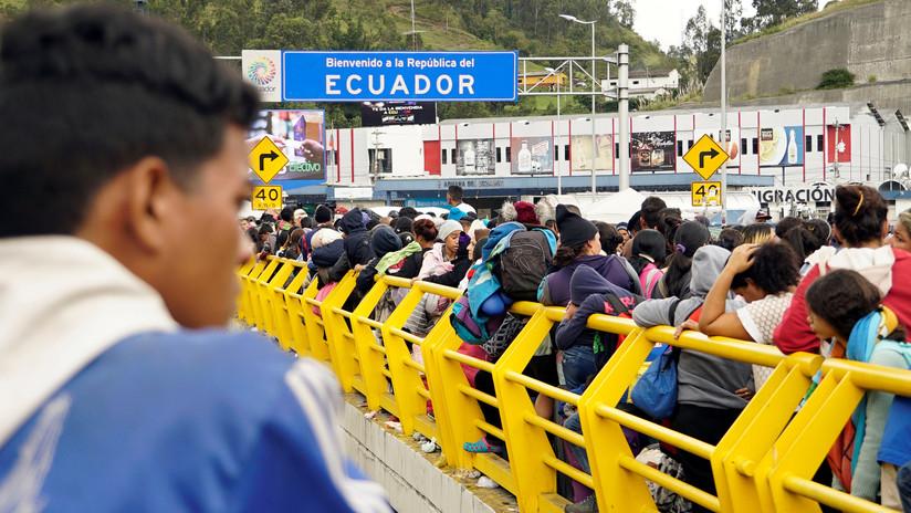 Colombia activa plan de contingencia ante exigencia de visa a venezolanos para ingresar a Ecuador