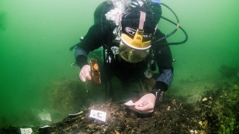Descubren en una isla británica un astillero de la Edad de Piedra