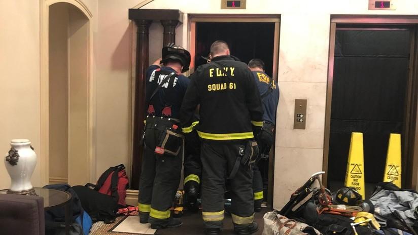 VIDEO: Muere aplastado por un ascensor en un lujoso edificio de Manhattan delante de otros inquilinos