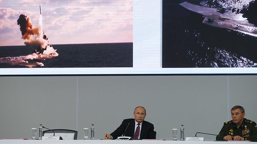 """Putin ordena una respuesta """"exhaustiva"""" a la prueba de un misil de crucero por EE.UU."""