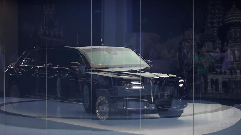 Rusia anuncia el precio de su lujoso y blindado automóvil Aurus Senat