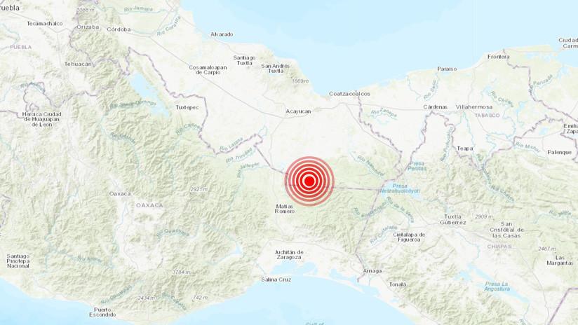 El sur de México registra un terremoto de magnitud 4,5
