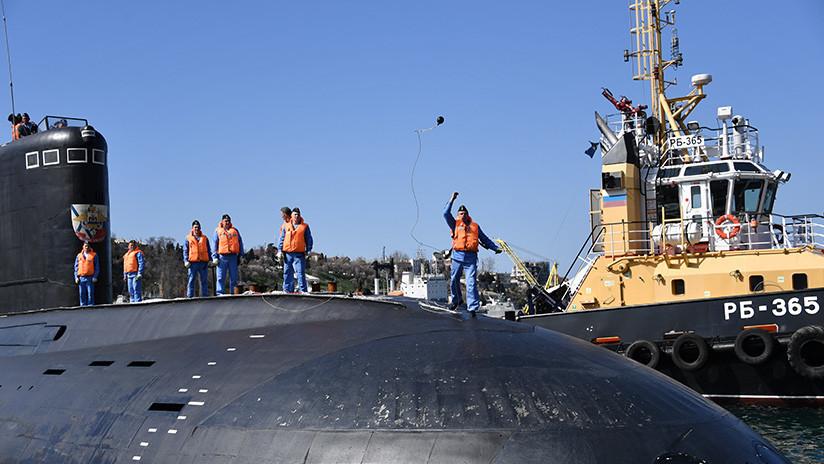 La Armada rusa incorporará seis nuevos submarinos en 2020
