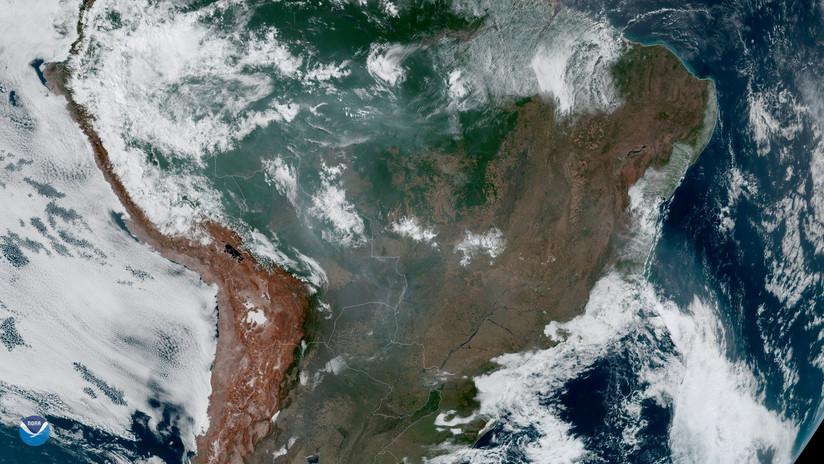 """El Gobierno de Brasil afirma que los incendios en la Amazonia """"no están fuera de control"""""""