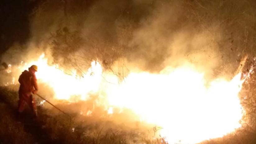 VIDEO: El tamaño del incendio en Bolivia, comparado con grandes ciudades