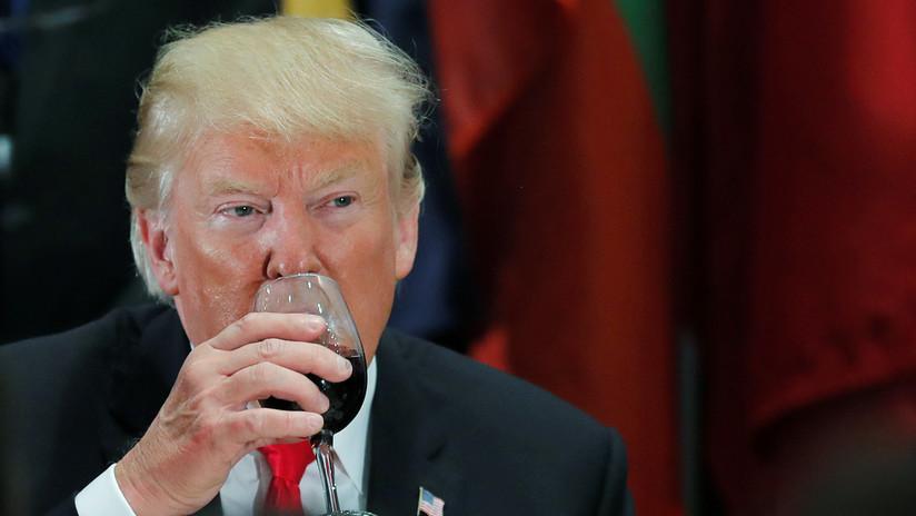 """""""Gravaremos su vino como nunca antes"""": Trump amenaza de nuevo a Francia por el impuesto digital"""