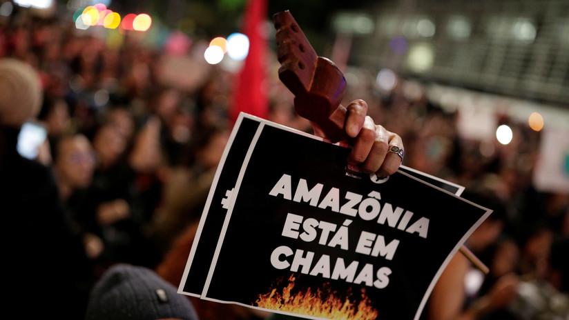 Arde la Amazonia, el pulmón de la Tierra