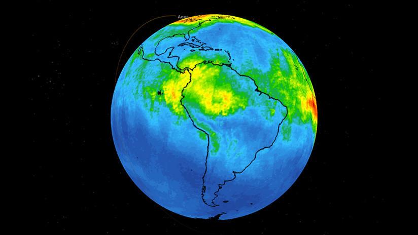 VIDEO: La NASA difunde un mapa de la 'explosión' de monóxido de carbono por los incendios en la Amazonia