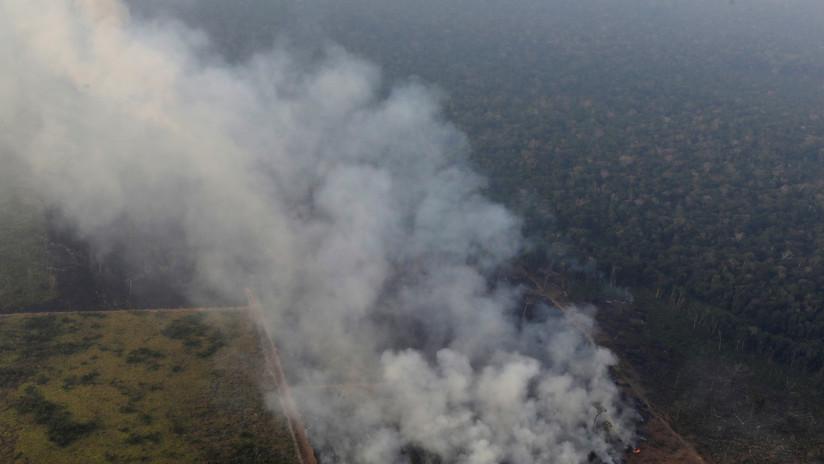 Cientos de nuevos incendios se registran en la Amazonía brasileña