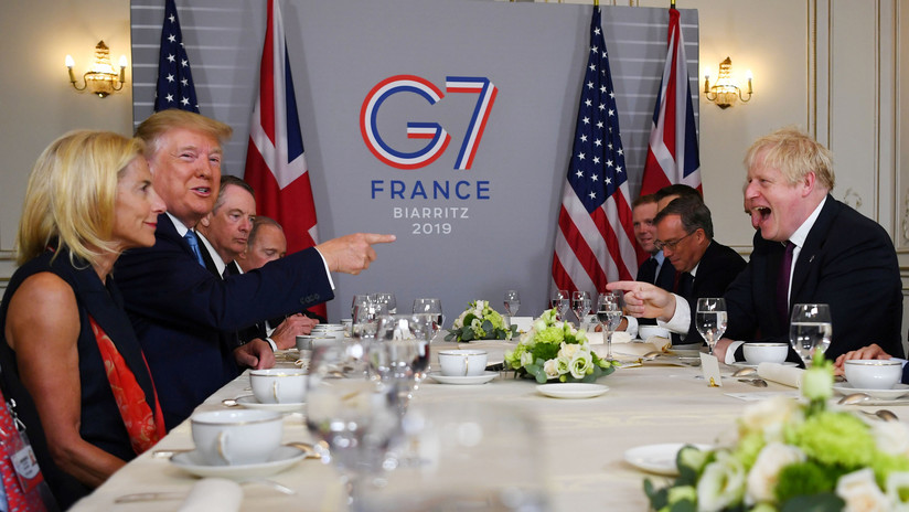 G7: Donald Trump promete a Boris Johnson un gran acuerdo comercial cuando complete el Brexit