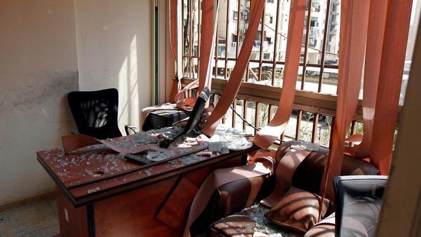 """""""Ataque directo contra la soberanía"""": El Líbano confirma que dos drones israelíes se estrellaron en Beirut"""