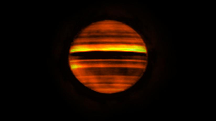 Las tormentas de Júpiter afectan a sus cinturones de colores