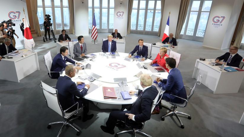 Lavrov afirma que Rusia no pretende proponer su regreso al G8